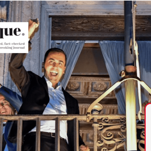 Are we seeing Di Maio's beginning of the end?