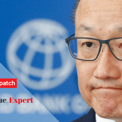 World Bank president resigns