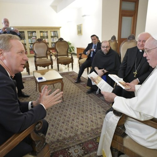 Artificial Intelligence, the Common Good and Humanity on the agenda of meeting between Pope Francis and Microsoft's President