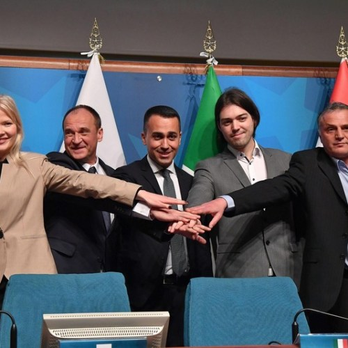 Di Maio launches new group for European  Parliament elections