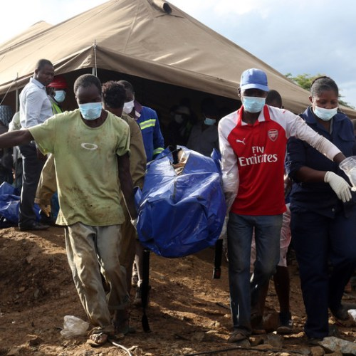 24 illegal gold miners die after dam collapse in Zimbabwe