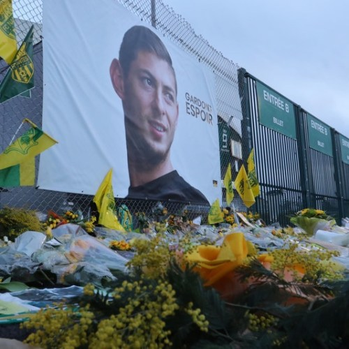 Wreckage of plane carrying Emiliano Sala found