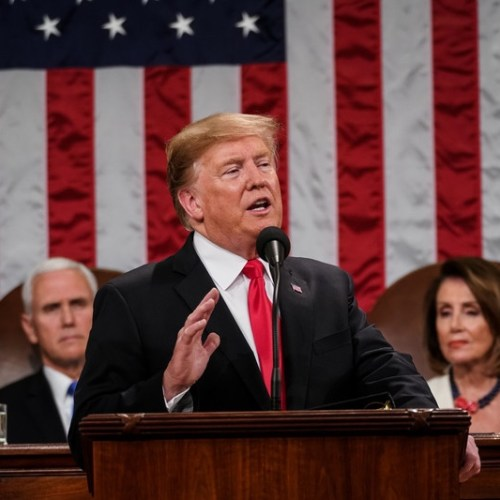 US President delivers State of the Union speech