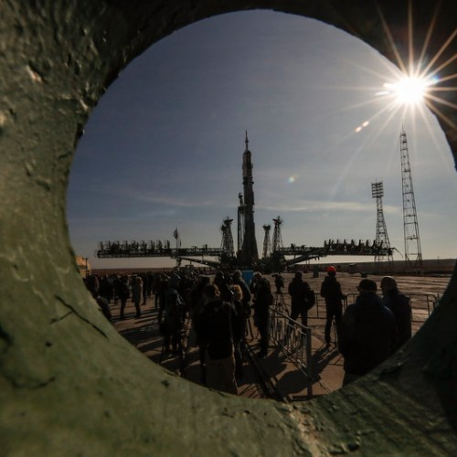 Photo Story – Space launch preparation at Baikonur Cosmodrom