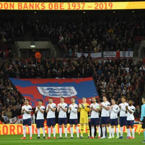 Photo Story: England honours Gordon Banks