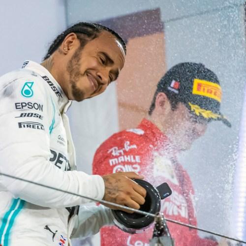 Hamilton wins Bahrain F1 race