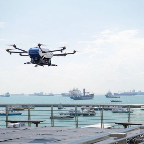 Airbus has begun shore-to-ship trials with its Skyways drone