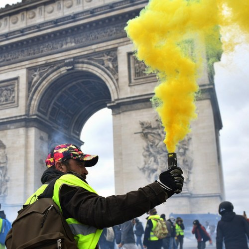 Yellow Vests Violence – French government fires Paris Police commissioner