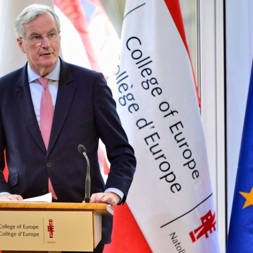 Barnier says EU would allow permanent customs union if UK wants it