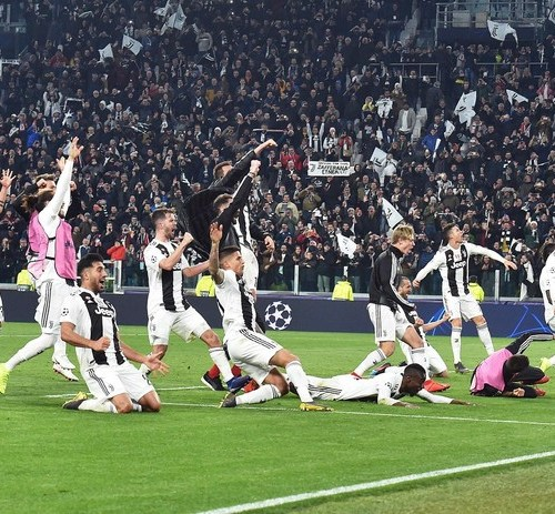 Ronaldo's hat trick seals Juventus come back and qualification in UEFA Champions League
