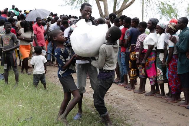 Mozambique Cyclone Idai aftermath