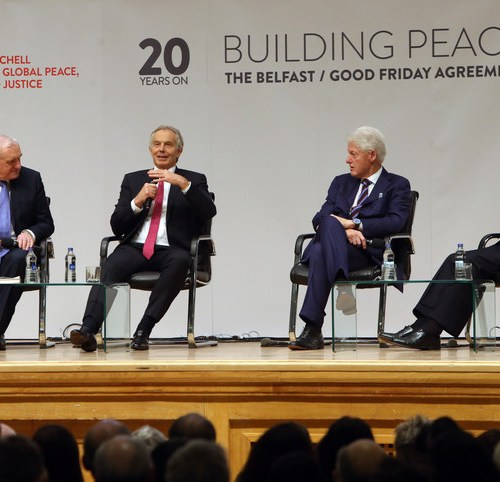 Blair and Ahern call for second referendum and the importance of the Good Friday Agreement