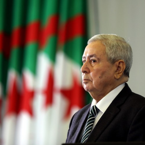 Algeria's Parliament confirmed Bensalah as acting head of state