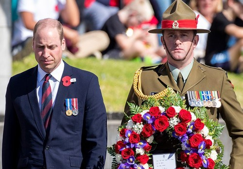 Prince William on a two-day visit New Zealand