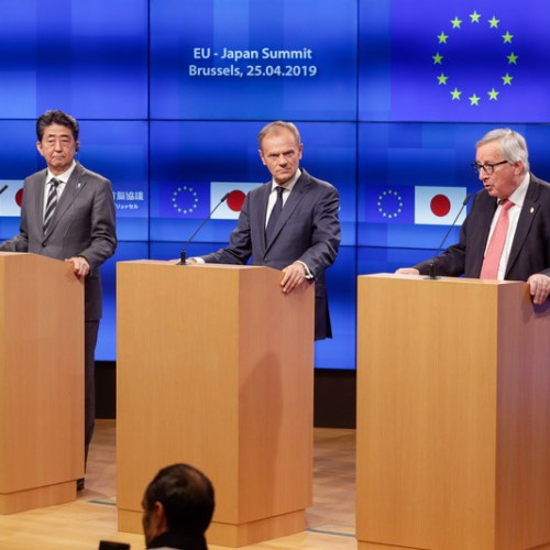 Trade talks dominate as EU and Japan hold annual summit