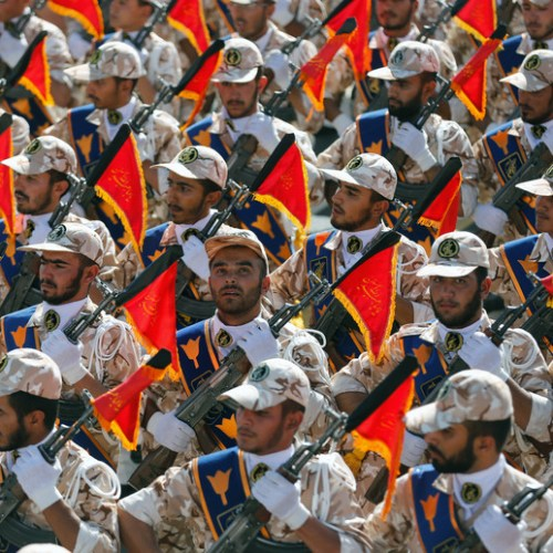 U.S. declares Iran's Revolutionary Guard As A Foreign Terrorist Organization