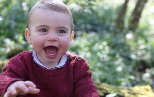 Kensington Palace Releases Photos For Prince Louis' 1st Birthday