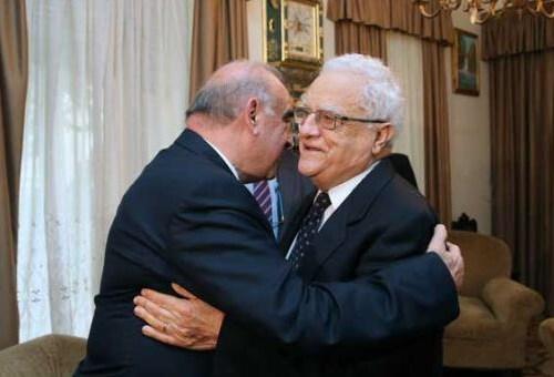 President George Vella meets President Emeritus Eddie Fenech Adami