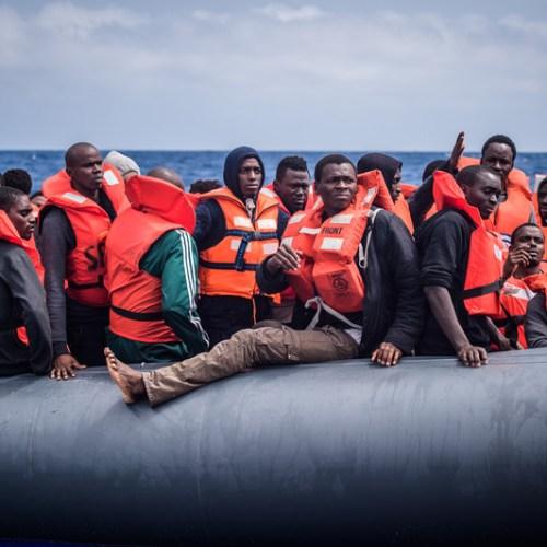 Eight migrants missing off Libyan coast