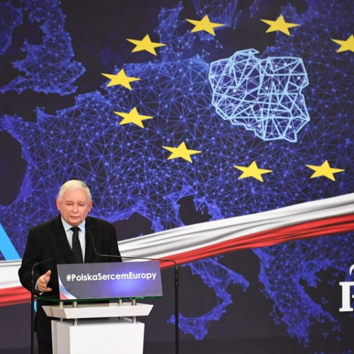 Polish leader describes LGBT rights as a threat to the nation