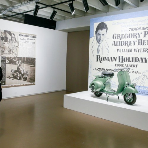 Slideshow: 'Intimate Audrey' exhibition in Brussels