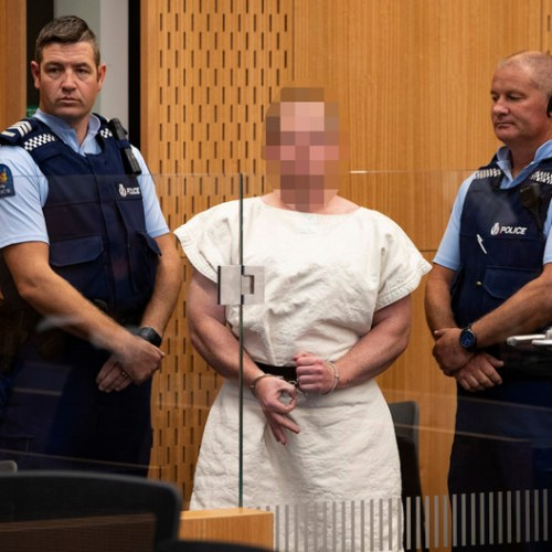Man accused of Christchurch shooting charged with engaging in a terrorist act