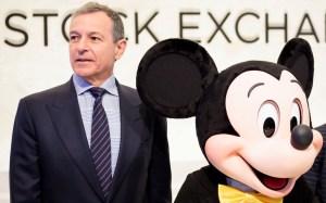 New York Stock Exchange Disney CEO Iger