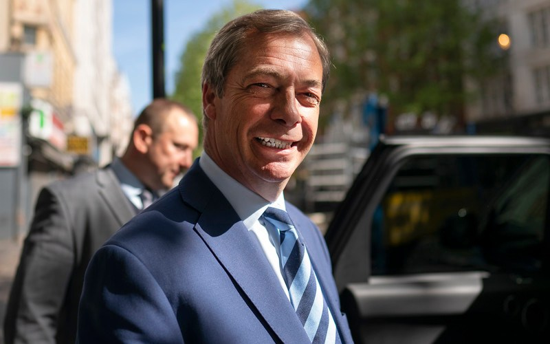 Nigel Farage joins Dutch carbon offset company