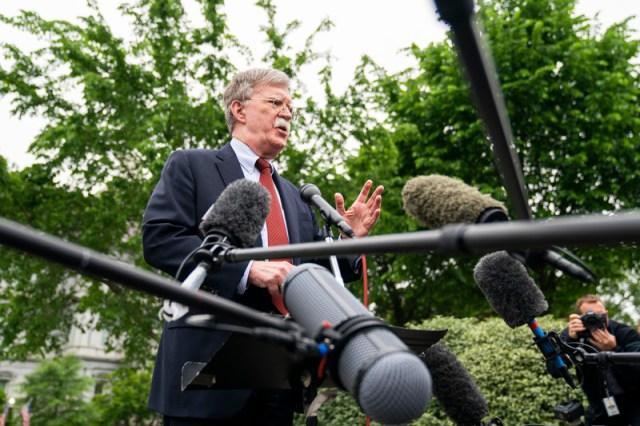 Bolton speaks on Venezuela from the White House