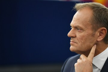 Poland's Tusk says conflicts within the EU could eventually end the bloc