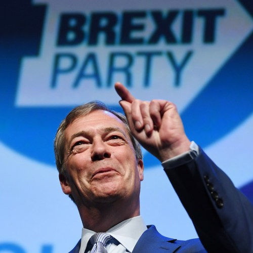 BrusselsViewPoint Europe's 2019 Moments –  Nigel Farage's launch of the Brexit party