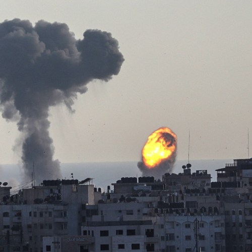A behind the scenes look at the violence between Israel and Hamas