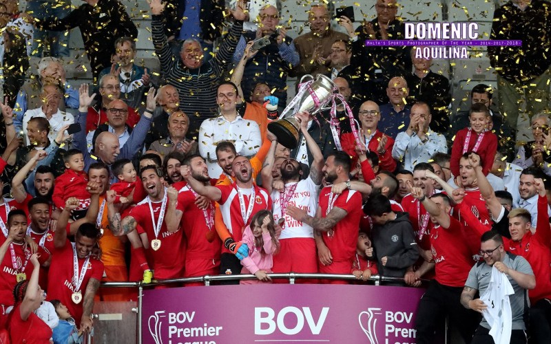 Valletta win their 25th league after beating Hibernians on penalties in dramatic decider
