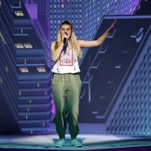 Photo Story: Michela's rehearsal for the Grand Final of 64th Eurovision Song Contest