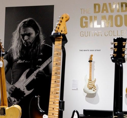 Photo Story: David Gilmour's personal guitar collection sells for $21.5 million at auction
