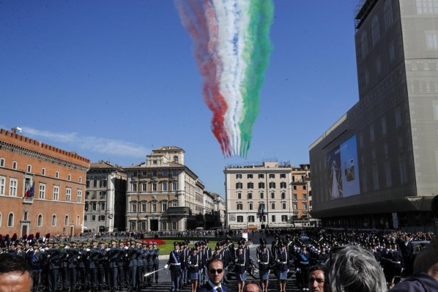 Italy's Republic Day celebrations in Rome