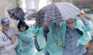 'Miguel' storm in northern Spain