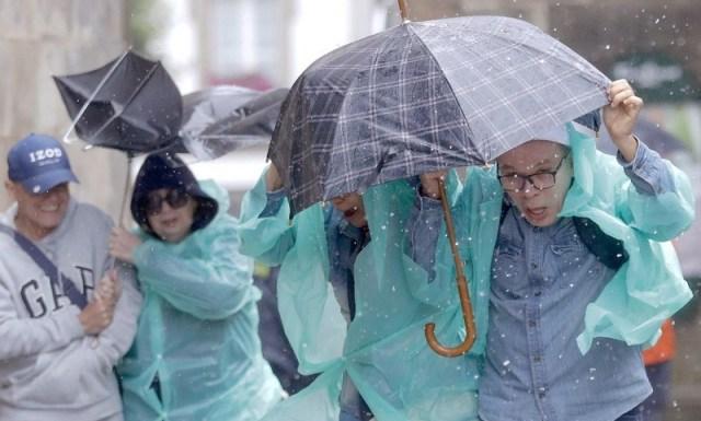 'Miguel' storm in northern Spain