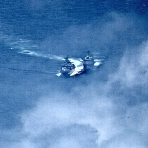 UPDATED: Dangerous confrontation between Russian and US  warships in the East China Sea