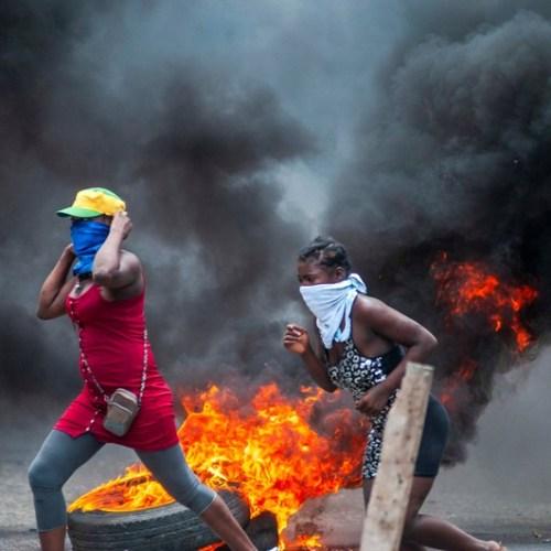 Photo Story : Haiti protests