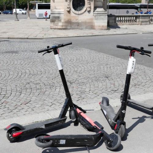 Paris – Electric scooters means pavement is no longer a safe place for pedestrians