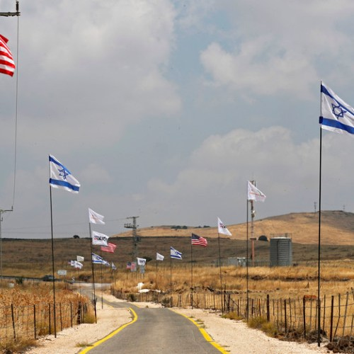 Israeli PM Netanyahu will seek Cabinet approval to build a new settlement on the Golan Heights