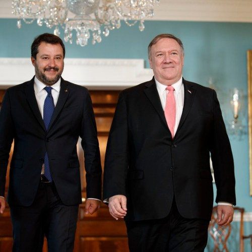 Italy is most credible and solid interlocutor of the US in the EU – Pompeo