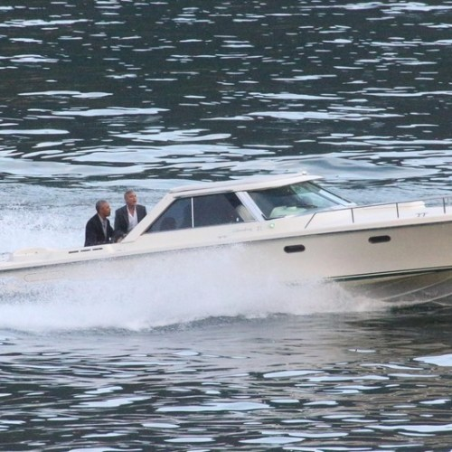 Photo Story – Former US President Barack Obama on vacation with George Clooney on Como Lake