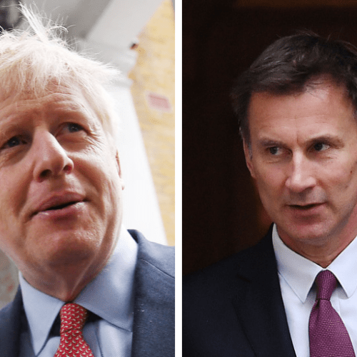 Boris Johnson will go head-to-head with Jeremy Hunt for the Conservative leadership as Michael Gove is eliminated