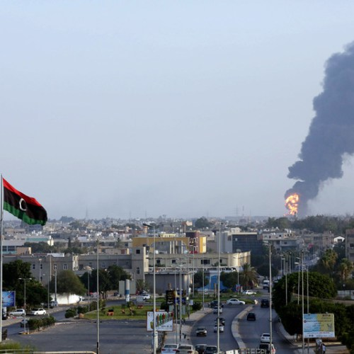 Escalation of fighting around Tripoli, Haftar forces targeted from the air