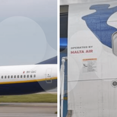 PhotoStory – Ryanair aircraft operated by Malta Air spotted in Stansted airport