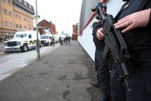 Protest against Northern Ireland G8 Summit