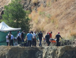 Search for bodies of victims of a killer in Cyprus