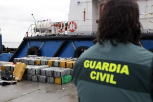 Cocaine seizures on Portugal coast